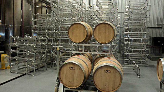 Aluminum Std. Wine Barrel Racks