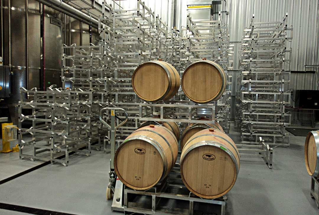 Aluminiu Std. Wine Barrel Racks