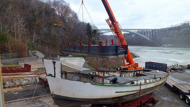 Boat Dismantling